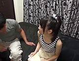 Mio Ooshima just gets turned on by a dick picture 14