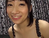 Mio Ooshima just gets turned on by a dick