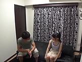 Mio Ooshima just gets turned on by a dick picture 3