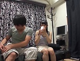 Mio Ooshima just gets turned on by a dick picture 8