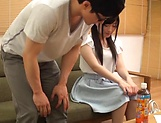 Lovely Kitano Nozomi thrilling sex after dinner