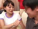 Kinky schoolgirl Aoyama Mirai enjoys being fucked picture 14