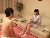 Horny Aya Miyazaki in solo masturbation event picture 11