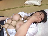 Cute Ai Uehara spreads it wide open for fucking