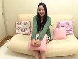 Cutie Ishida Yui likes getting toy teased erotically picture 1