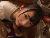 Wasa Yatabe gets kinky on a pulsating schlong picture 14