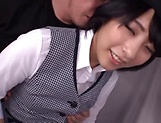 Miku Abeno gets thrilled by an amazing pussy licking
