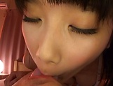 Aya Miyazaki loves showcasing her sexy body indoors