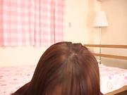 Yuikawa Chihiro goes solo for some hot masturbation porn