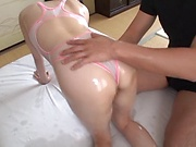 Miyuu Hoshizaki, shows her dick riding skills