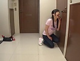 Saitoui Miyu gets her gaping teen twat filled with cum picture 11