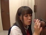 Alluring Saitoui Miyu in kinky cream pie sex fun
