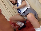 Lip smacking amateur hottie impressive action