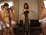 Group action with Saryuu Usui getting a bukkake picture 15