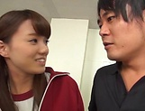 Horny stud get freaky with Asian hottie Hikaru Kakitani