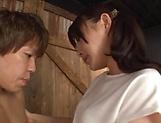 Hakii Haruka ,featured in a sleazy hardcore scene picture 14