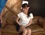 Hakii Haruka ,featured in a sleazy hardcore scene
