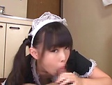 Ayanami Yume gets naughty pleasuring her boss picture 15