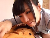 Amazing Asian girl loves the thrill of a hard cock