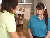 Luscious Chitose Saegusa featured in an intense pounding