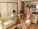 Luscious Chitose Saegusa featured in an intense pounding picture 14