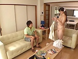 Luscious Chitose Saegusa featured in an intense pounding picture 15