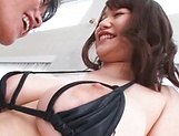 Hot chick Rena Momozono in action taking load picture 14