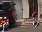 Cute Rion Nishikawa enjoys a kinky cunnilingus picture 11