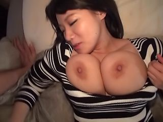 Kaho Shibuya performs an erotic tit fuck