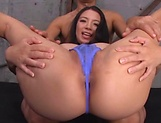 Mako Oda,enjoys a sensational rear fuck