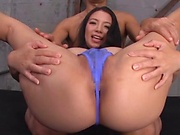 Mako Oda,enjoys a sensational rear fuck