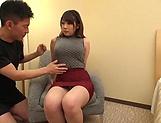 Tittyfuck with her busty babe Kirishima Sakura