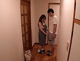 Hardcore Chitose Saegusa gets penetrated doggy picture 15