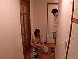 Hardcore Chitose Saegusa gets penetrated doggy