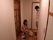 Sensational Chitose Saegusa gets some wild fucking