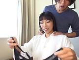Amazing busty milf Nozomi Mikimoto in load moans picture 3