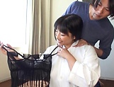 Amazing busty milf Nozomi Mikimoto in load moans picture 4