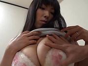 Big tits housewife POV porn adventure session