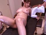 Chie Nakamura massaged and nailed properly