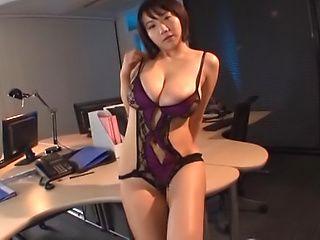 Kaho Shibuya gets her twat nailed superbly