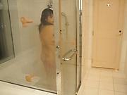Haruna Hana, featured in a raunchy voyeur action