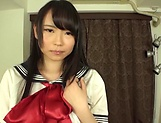 Akane Yoshinaga has her gaping hole penetrated picture 6