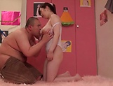Mikoto Narumiya, has her gaping hole stretched picture 13