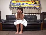 Wakaba Onoue gives some good head to her dude picture 12