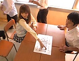 Yuu Asakura gets her twat toyed and fucked well picture 12