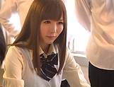 Yuu Asakura gets her twat toyed and fucked well picture 1