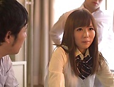 Yuu Asakura gets her twat toyed and fucked well picture 3