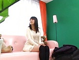 Ai Uehara gives an intimate blowjob before taking load