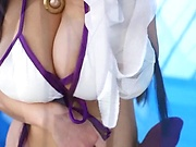 Shibuya Kaho getting nailed superbly in her costume