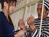 Asian hottie Akiho Yoshizawa in raunchy blowjob scene picture 11